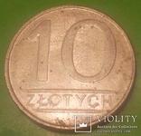 Польща 10 злотих, 1987