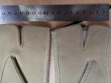 Перчатки замшевые, фото №4