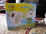 6 ламп фонарь YONGZE  YZ-099 на аккумуляторе под ремонт фото 4