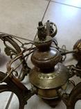 Люстра бронзовая, фото №7
