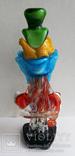 Клоун Муранское стекло Италия оригинал 1974 г, фото №7