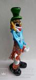 Клоун Муранское стекло Италия оригинал 1974 г, фото №8