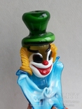 Клоун Муранское стекло Италия оригинал 1974 г, фото №9