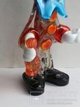 Клоун Муранское стекло Италия оригинал 1974 г, фото №10