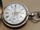 Карманные часыЗа отличную стрельбу Ун.Офицер 5роты Шуляков с нагрудным знаком, фото №7