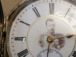 Карманные часыЗа отличную стрельбу Ун.Офицер 5роты Шуляков с нагрудным знаком, фото №8