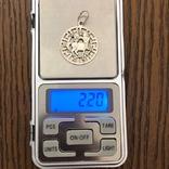 Кулон Срібло 925 2,20 грам., фото №4