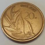 Бельгія 20 франків, 1981 фото 2