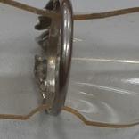 Кольцо с зеленой вставкой.Винтаж, фото №5