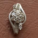 Кулон Цветок серебро, фото №3