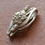 Кулон Цветок серебро, фото №4
