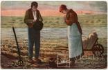 Сцена на сельскохозяйственных работах, Европа, подписана 40-м годом, фото №2