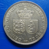 1  крона  1957 Гренландия   ($8.1.1)~, фото №2