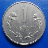 1  крона  1960   Гренландия   ($8.1.3)~, фото №3