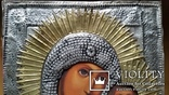 Ікона Казанська Богоматір, латунь, 31,5х26,5, фото №3