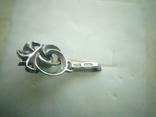 Підвіс срібний 875 СССР із самоцвітом, фото №5