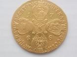 10 рублей 1766 года СПБ. тираж 159133 шт, фото №2