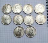 500 лир Италия 1958 год (10 штук), фото №2