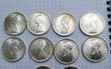 500 лир Италия 1958 год (10 штук), фото №3