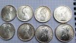 500 лир Италия 1958 год (10 штук), фото №4