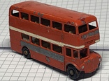 Lesney Matchbox Moko 5b London Bus No.5  1:75 scale 1957-1960, фото №2