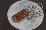 Кулон- жетон з метеоритом Seymchan, з сертифікатом, фото №2