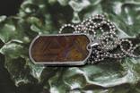 Кулон- жетон з метеоритом Seymchan, з сертифікатом, фото №6