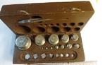 Набор лабораторных гирь 1957 года, фото №2
