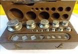 Набор лабораторных гирь 1957 года, фото №4
