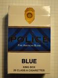 Сигареты POLICE BLUE фото 2
