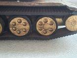 Скульптура-модель бронзового танка Тяжелый больше 5 кг, фото №12