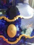 Винтажная оригинальная большая фарфоровая ваза Wollendorf Кобальт, фото №7