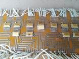 Микросхеми на платах позолота 20 шт, фото №4