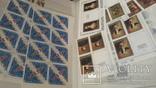 Кляссер на 50стр полностью заполненный маркамиСССР 1985-89гг, фото №5