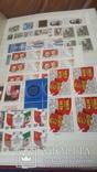 Кляссер на 50стр полностью заполненный маркамиСССР 1985-89гг, фото №8