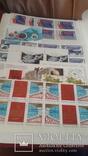 Кляссер на 50стр полностью заполненный маркамиСССР 1985-89гг, фото №9
