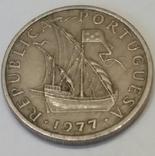 Португалія 5 ескудо, 1977