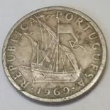 Португалія 2.5 ескудо, 1969