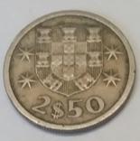 Португалія 2.5 ескудо, 1969 фото 2