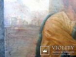 Старовинна ікона - Моління перед іконою Св. Миколая, фото №9