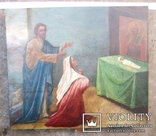Старовинна ікона - Моління перед іконою Св. Миколая, фото №13