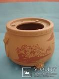 Исинская глина, керамический набор-подставка для заваривания чая, фото №3