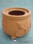 Исинская глина, керамический набор-подставка для заваривания чая, фото №4