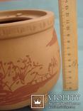 Исинская глина, керамический набор-подставка для заваривания чая, фото №12