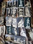 25 старинных открытки до 1917г в стиле ню, фото №2
