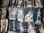 25 старинных открытки до 1917г в стиле ню, фото №4