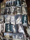 25 старинных открытки до 1917г в стиле ню, фото №6