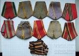 Б/у ленты для советских орденов и медалей - 2., фото №2