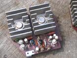 УНЧ Юпитер стерео германиевые транзисторы усилитель, фото №3