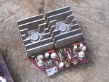 УНЧ Юпитер стерео германиевые транзисторы усилитель, фото №4